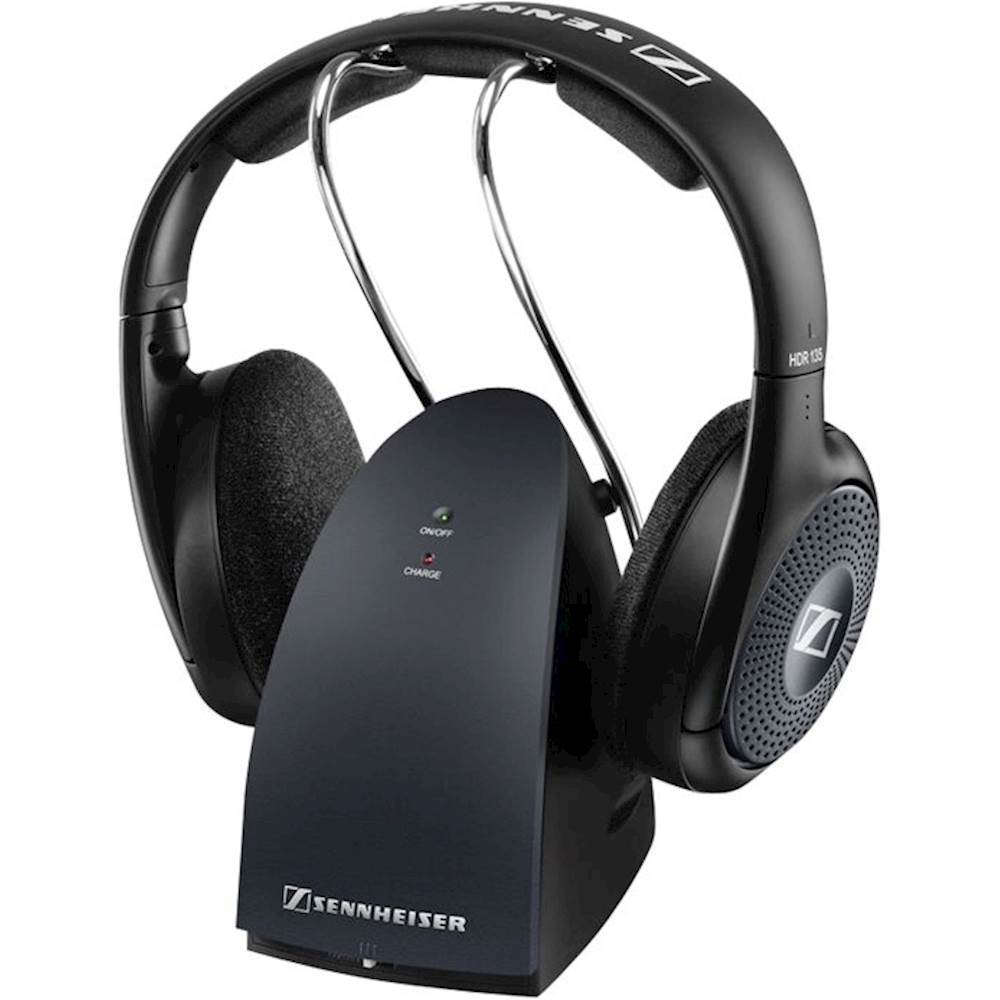 Sennheiser RS 135 -Over-the-Ear Wireless Headphones Black