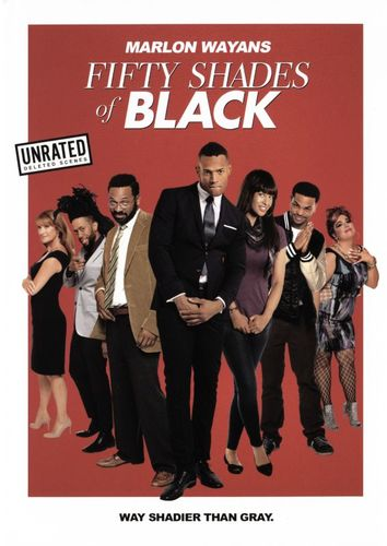 Fifty Shades of Black [DVD] [2016]