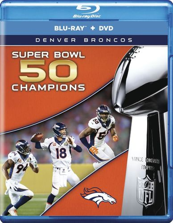 NFL: Super Bowl 50 [Blu-ray] [2 Discs] 4983400