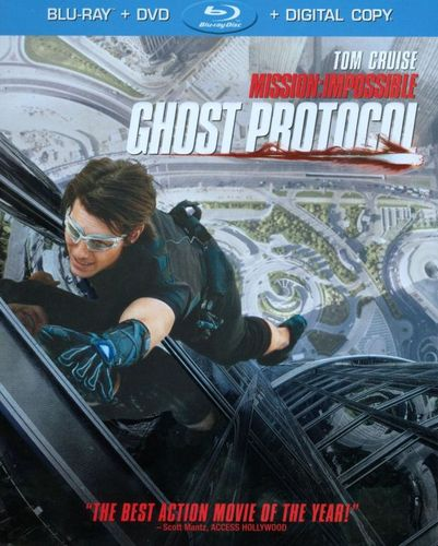 Mission: Impossible - Ghost Protocol [2 Discs] [Includes Digital Copy] [Blu-ray/DVD] [UltraViolet] [2011] 4983734