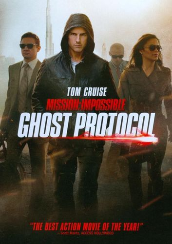 Mission: Impossible - Ghost Protocol [Includes Digital Copy] [UltraViolet] [DVD] [2011] 4983743
