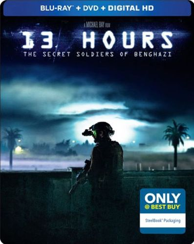 13 Hours: The Secret Soldiers of Benghazi [Blu-ray/DVD] [Only @ Best Buy] [SteelBook] [2016] 4985000