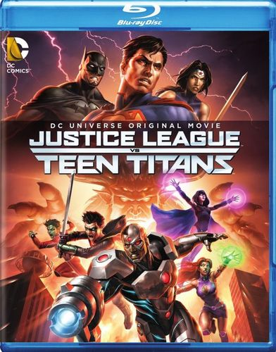 Justice League vs Teen Titans [Blu-ray/DVD] [2 Discs] [2016] 4989001