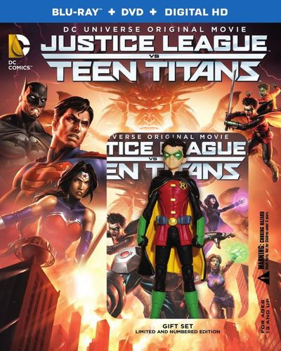 Justice League vs Teen Titans [Deluxe] [Includes Digital Copy] [UltraViolet] [Blu-ray] [2 Discs] [2016] 4989401