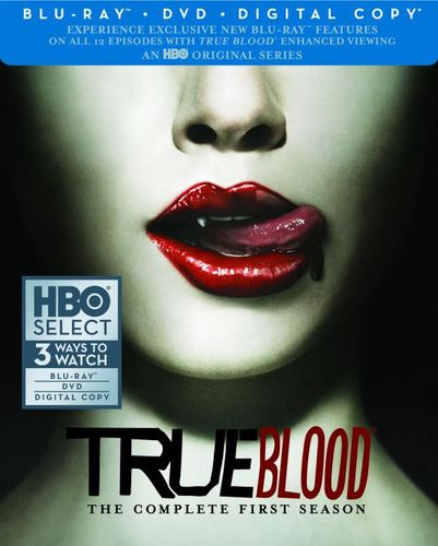 True Blood: The Complete First Season [2 Discs] [Includes Digital Copy] [Blu-ray/DVD] 4990151