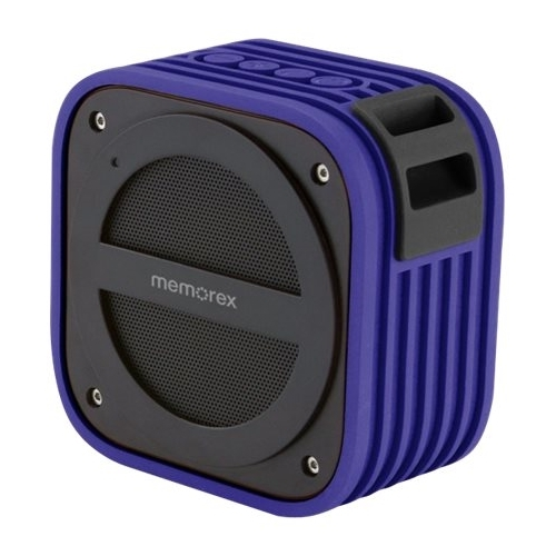 Memorex - Portable Bluetooth Speaker - Purple 5005726