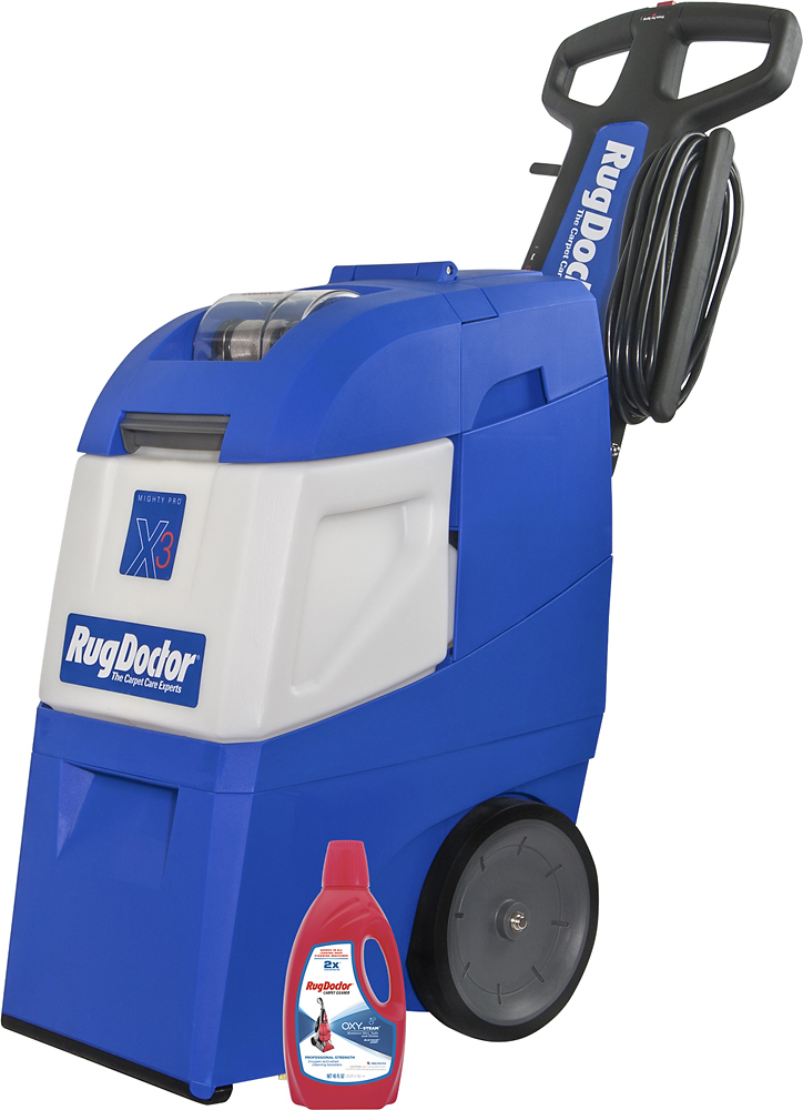 Rug Doctor Mighty Pro X-3 Carpet Cleaner Blue 95503