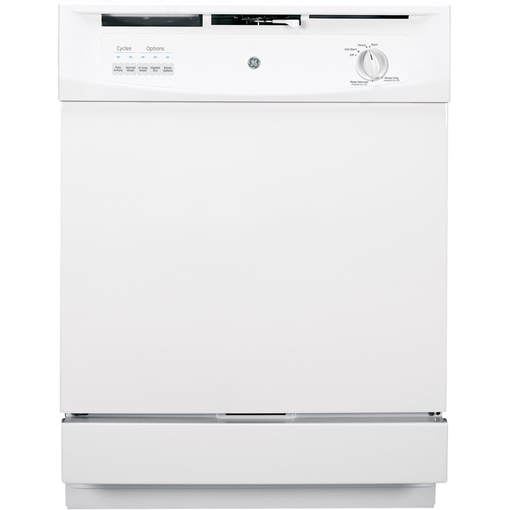 "GE 24"" Built-In Dishwasher White GSD3301KWW"