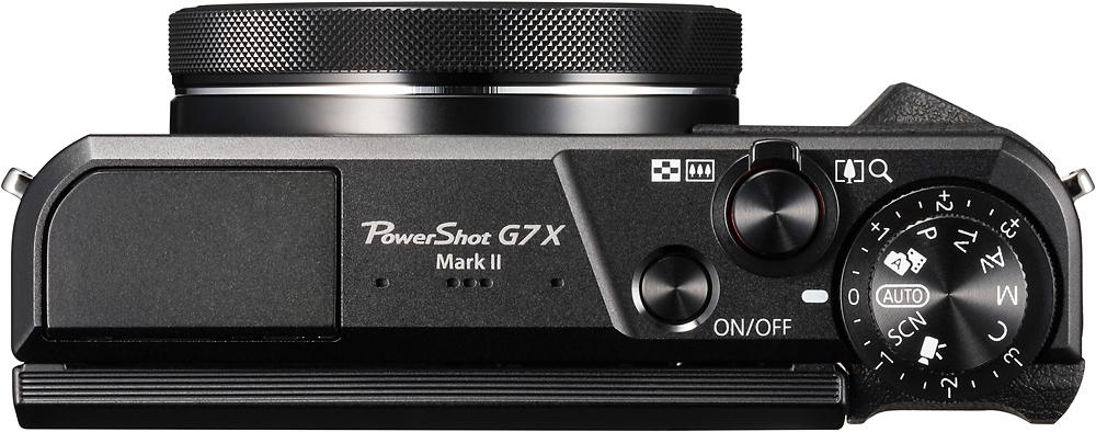 Canon 1066C001 PowerShot G7 X Mark II 20.1-Megapixel Digital Camera Black