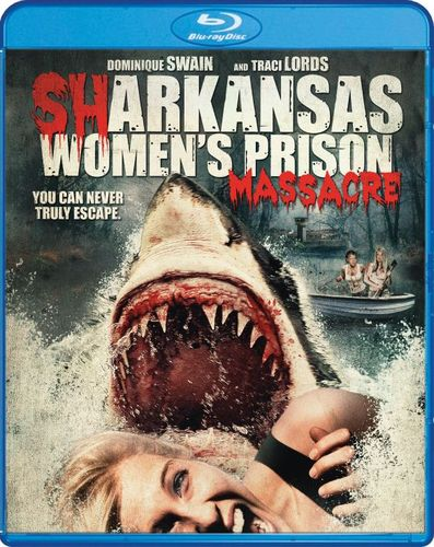 Sharkansas Women's Prison Massacre [Blu-ray] [2015] 5015900