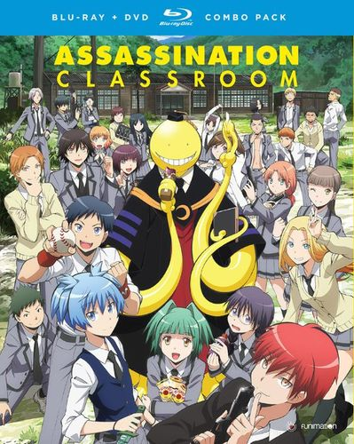 Assassination Classroom: Season One - Part One [Blu-ray/DVD] [4 Discs] 5018900