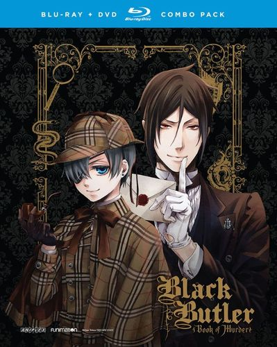 Black Butler: Book of Murder - OVAs [Blu-ray/DVD] [2 Discs] 5019000