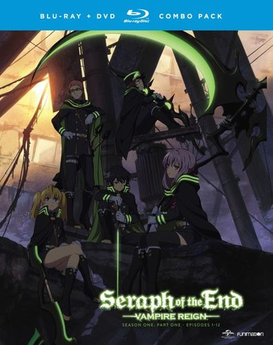 Seraph of the End: Vampire Reign: Season One, Part One [Blu-ray/DVD] [4 Discs] 5019400