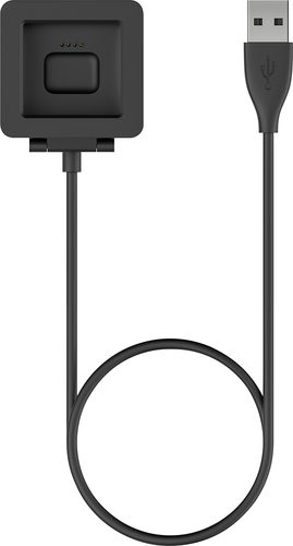 Fitbit - 2.97' Charging Cable for Fitbit Blaze - Black
