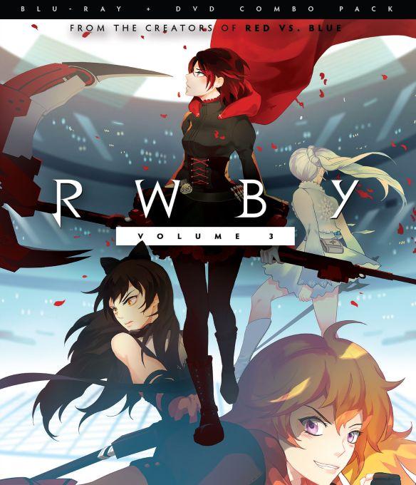 RWBY: Vol. 3 [Blu-ray] [2 Discs] 5023004