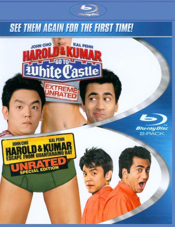 Harold and Kumar Go to White Castle/Harold and Kumar Escape from Guantanamo Bay [2 Discs] [Blu-ray] 5026206