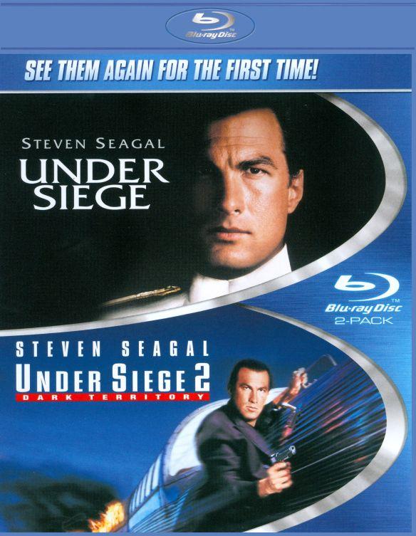 Under Siege/Under Siege 2: Dark Territory [2 Discs] [Blu-ray] 5026279