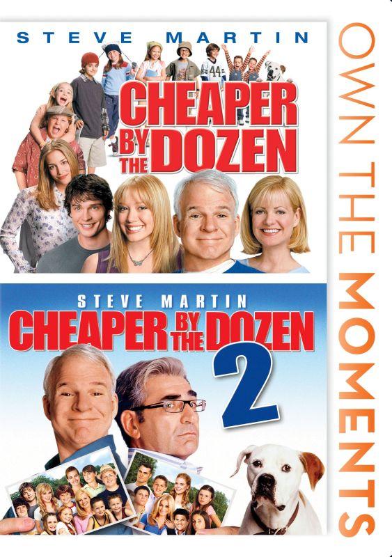 Cheaper by the Dozen/Cheaper by the Dozen 2 [DVD] 5026463