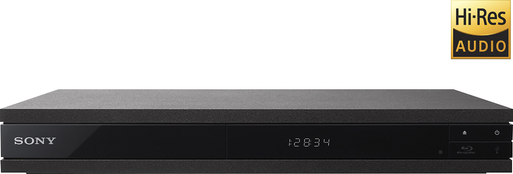 Sony UHP-H1 Streaming 4K Upscaling Wi-Fi Built-in Hi-Res Audio Blu-ray Player Black UHPH1