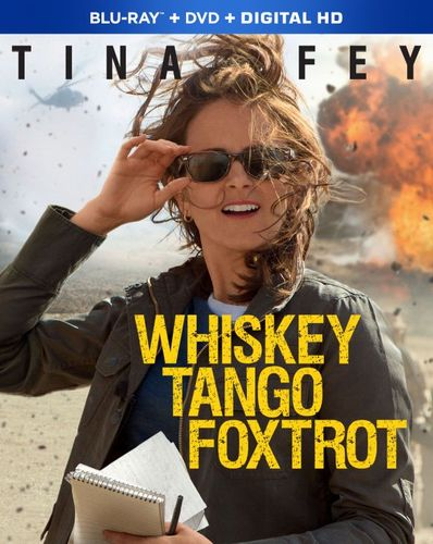 Whiskey Tango Foxtrot [Includes Digital Copy] [Blu-ray/DVD] [2016] 5036200