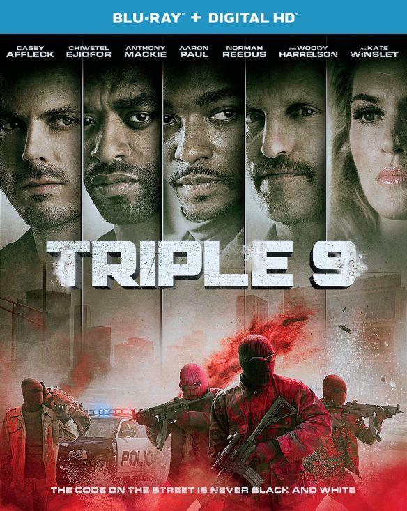 Triple 9 [Includes Digital Copy] [UltraViolet] [Blu-ray] [2016] 5044514