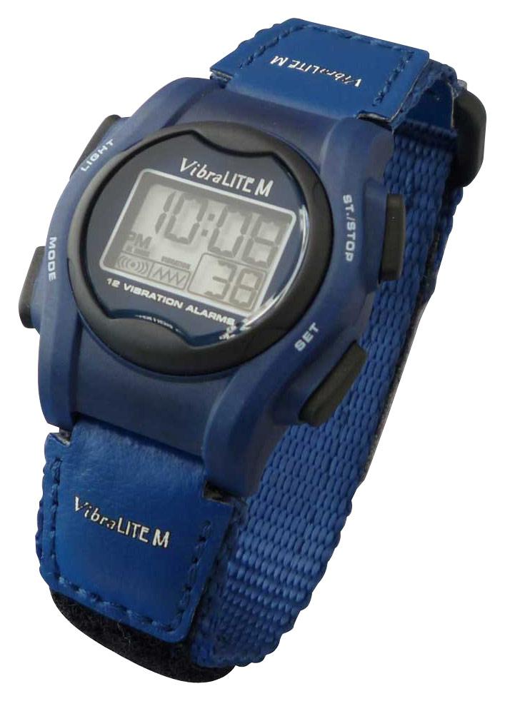 Global - VibraLITE MINI Vibrating Watch - Blue 5046026