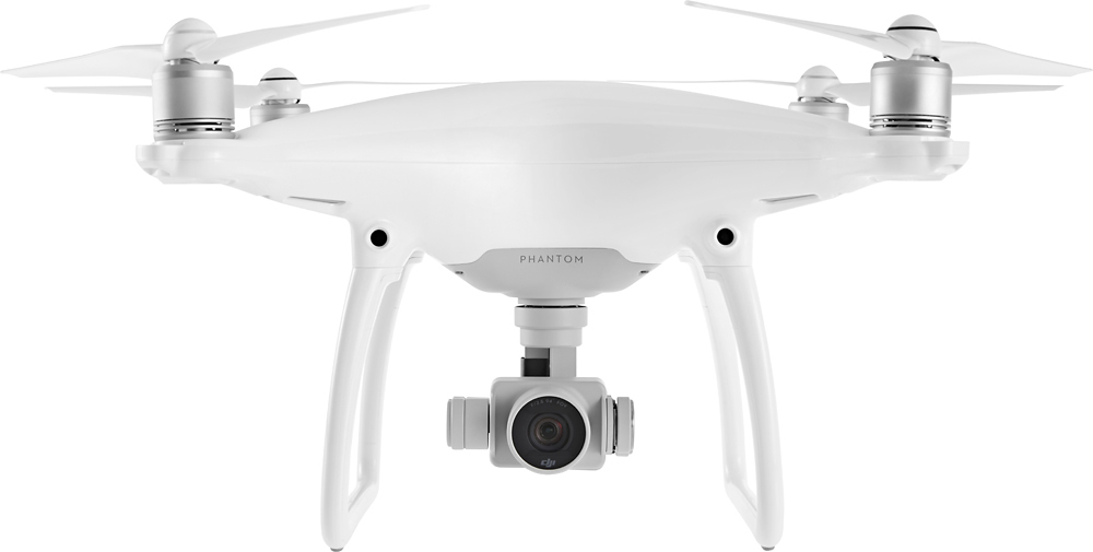 DJI - Phantom 4 Quadcopter - White