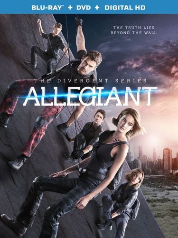 The Divergent Series: Allegiant [Blu-ray/DVD] [2016] 5048401