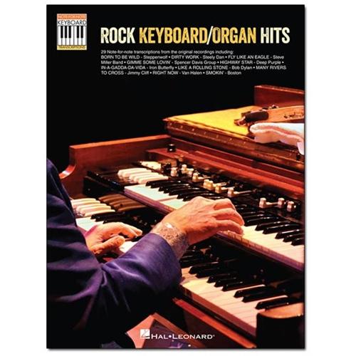 Hal Leonard - Various Artists: Rock Keyboard/Organ Hits Sheet Music