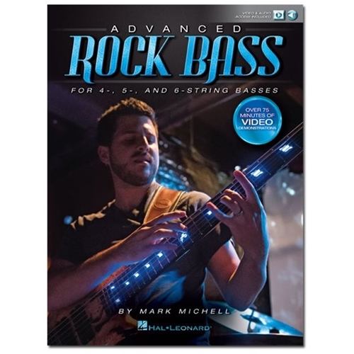 Hal Leonard - Michell Mark: Advanced Rock Bass for 4, 5- and 6-String Basses Sheet Music