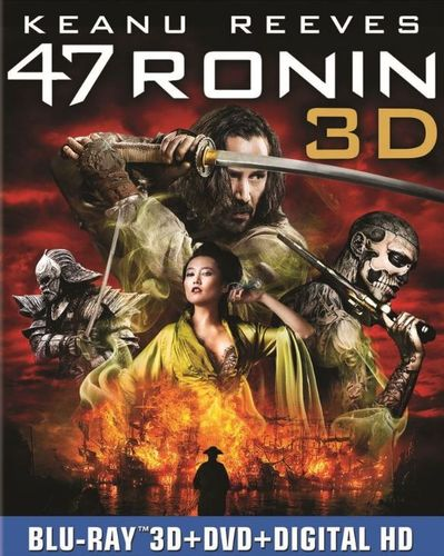 Image of 47 Ronin [3 Discs] [Includes Digital Copy] [UltraViolet] [3D] [Blu-ray/DVD] [Blu-ray/Blu-ray 3D/DVD] [2013]