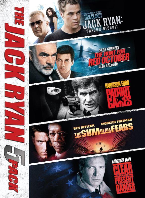 The Jack Ryan Movie 5-Pack [5 Discs] [DVD] 5066100