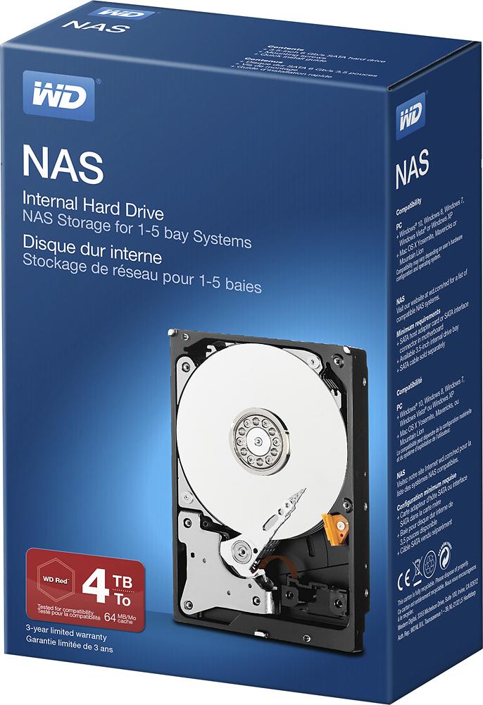 WD WDBMMA0040HNC-NRSN NAS 4TB Internal SATA Hard Drive for Desktops