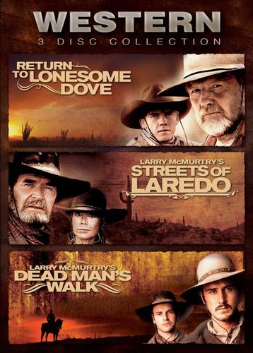 Western 3 Disc Collection: Return to Lonesome Dove/Streets of Loredo/Dead Man's Walk [3 Discs] [DVD] 5070501