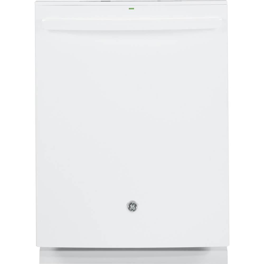 "GE 24"" Tall Tub Built-In Dishwasher White GDT655SGJWW"