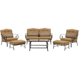 Hanover Oceana 6-Piece Seating Set Country Cork / Tile OCEANA6PC-TL-TAN