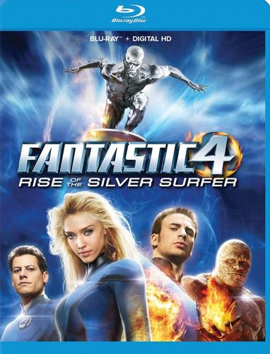 Fantastic Four 2: Rise of the Silver Surfer [Blu-ray] [2007] 5081002