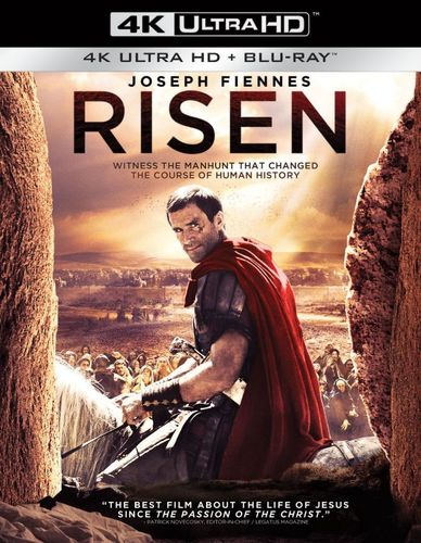 Risen [Includes Digital Copy] [4K Ultra HD Blu-ray/Blu-ray] [2016] 5082000