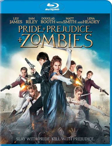 Pride and Prejudice and Zombies [Includes Digital Copy] [UltraViolet] [Blu-ray] [2016] 5082007