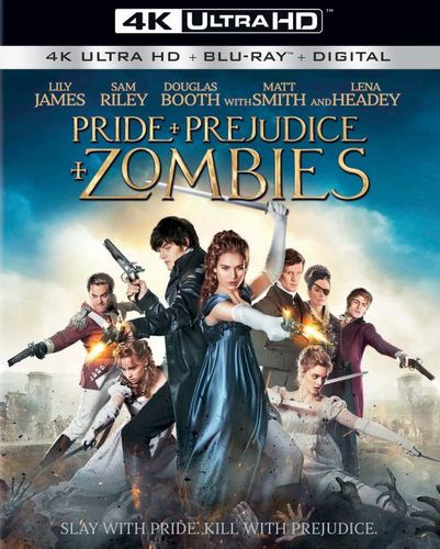 Pride and Prejudice and Zombies [Includes Digital Copy] [4K Ultra HD Blu-ray/Blu-ray] [2016] 5082008