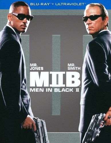 Men in Black II [Blu-ray] [Includes Digital Copy] [UltraViolet] [2002]