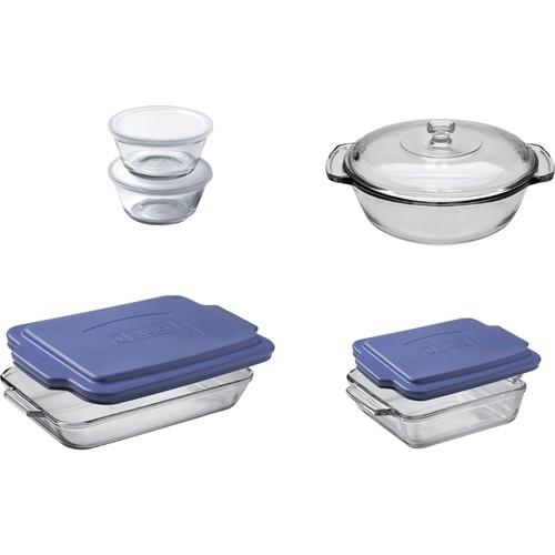 Anchor Hocking - 10-Piece Glass Bakeware Set - Clear 5086404