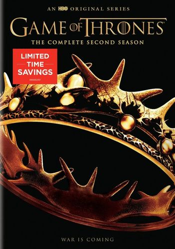 Game of Thrones: The Complete Second Season [5 Discs] [DVD] 5086487
