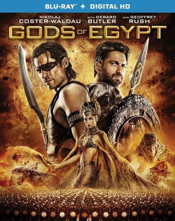 Gods of Egypt [Blu-ray] [2016] 5088900