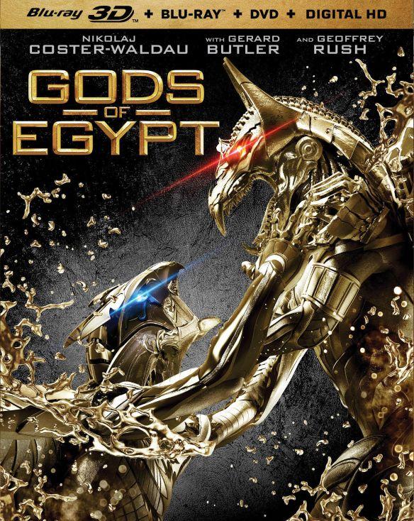 Gods of Egypt [3D] [Blu-ray/DVD] [3 Discs] [Blu-ray/Blu-ray 3D/DVD] [2016] 5089400