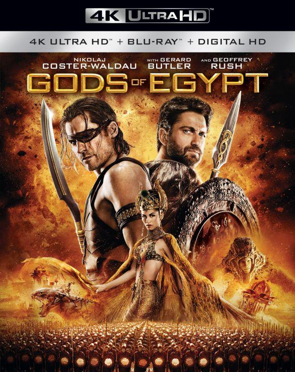 Gods of Egypt [4K Ultra HD Blu-ray/Blu-ray] [2016] 5089500