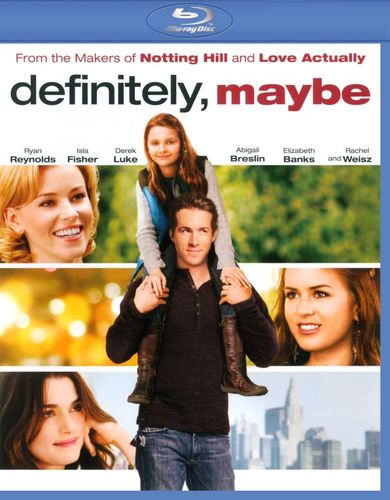 Definitely, Maybe [Blu-ray] [2008] 5089689