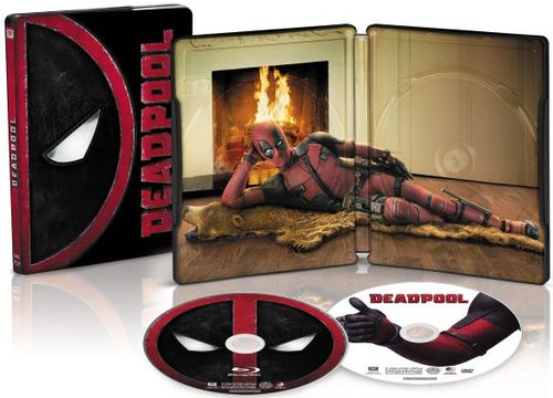 Deadpool [Includes Digital Copy] [SteelBook] [Only @ Best Buy] [Blu-ray] [2016] 5089900