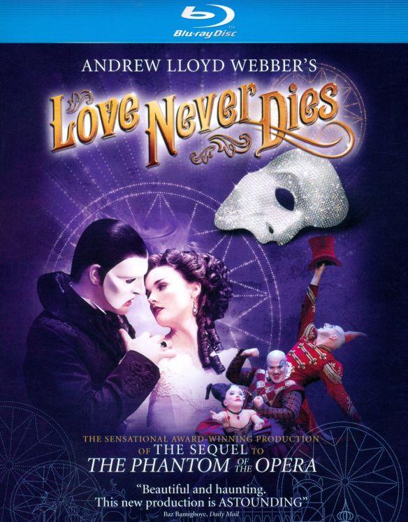 Andrew Lloyd Webber's Love Never Dies [Blu-ray] [2011] 5089934