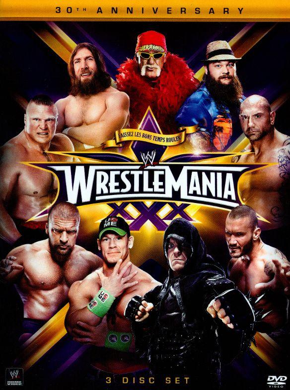 WWE: Wrestlemania XXX [DVD] [2014] 5090048